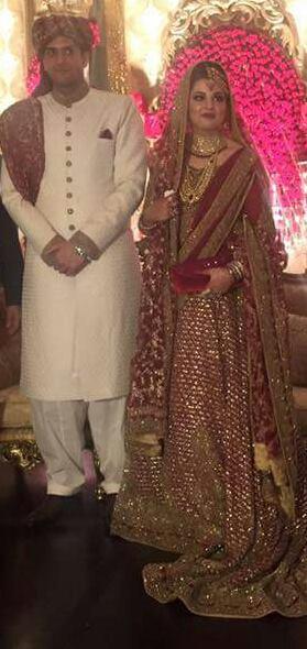maryam nawaz daughter wedding 1
