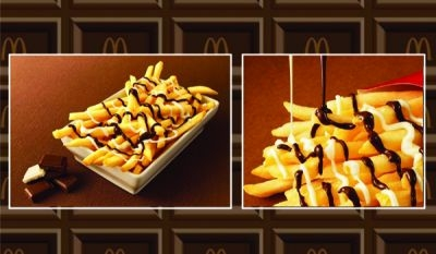 Mcdonald's Chocolate covered fries
