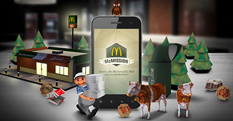 mcdonald augmented reality