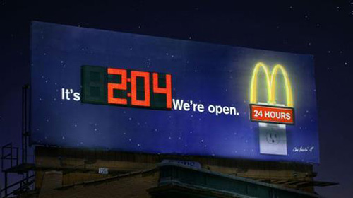 Mcdonald S 24 Hours Availability Promotion Brandsynario