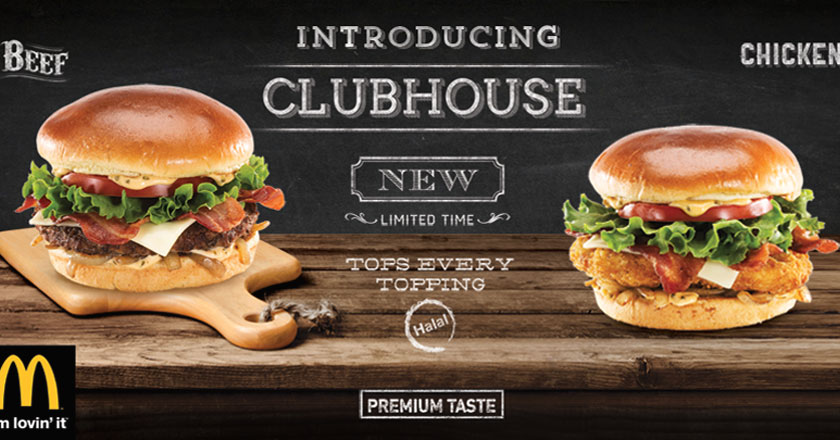 mcdonald s pakistan offers clubhouse burgers deal