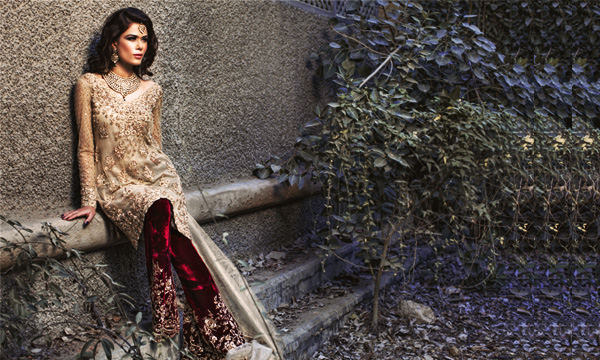 a1a3591fd7 Mina Hasan reveals their new bridal collection for the upcoming wedding  season. The collection is available made-to-order at Mina Hasan stores in  Lahore and ...