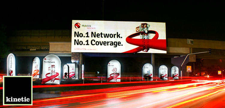 Mobilink OOH Campaign