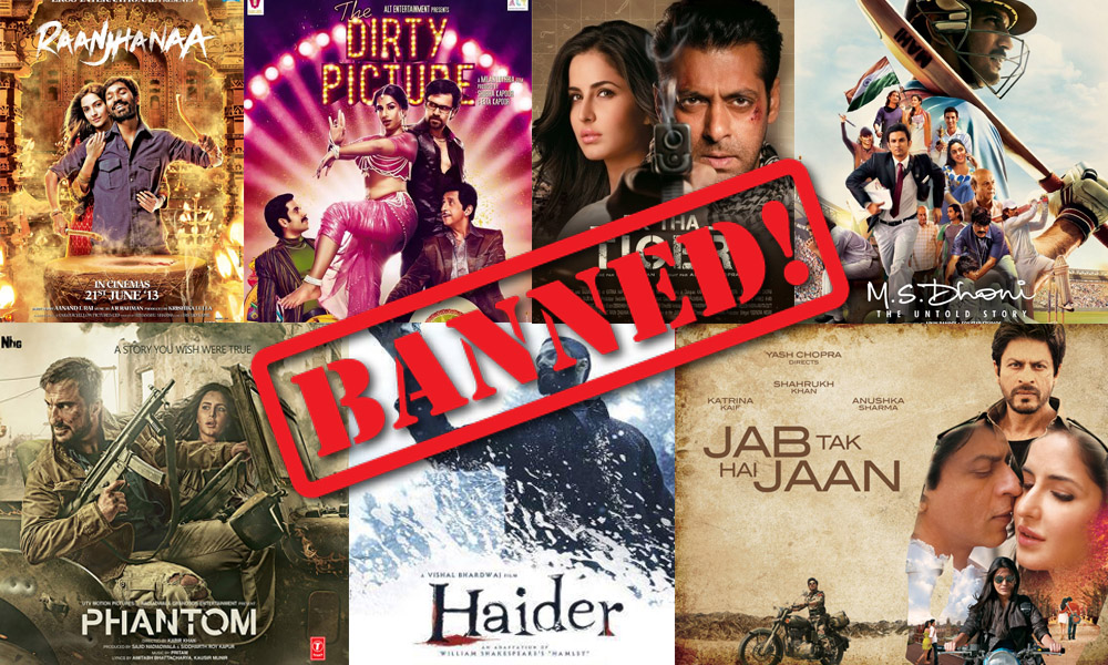 bollywood movies banned in Pakistan