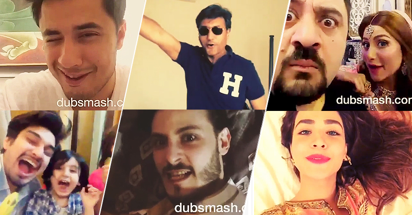 Pakistani Celebrities Create Hilarious Dubsmash Videos