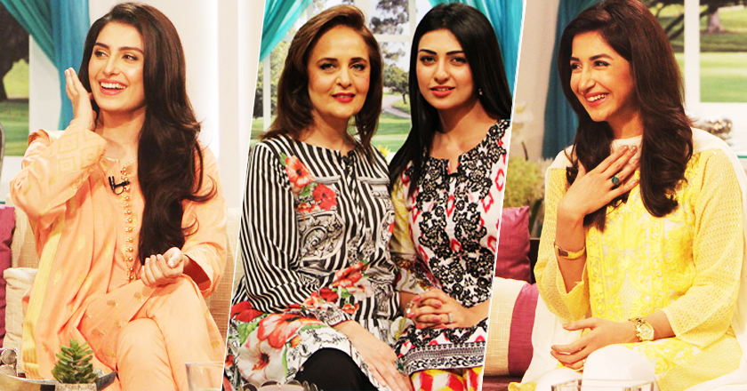 pakistani-celebrities-on-hina-bayat-show