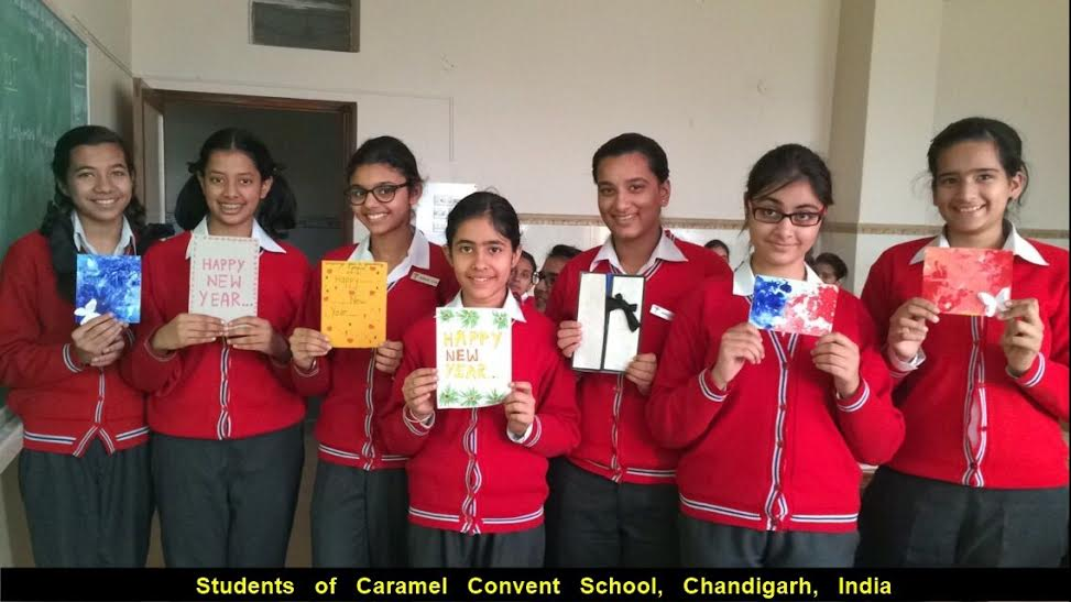 pakistani indian students new year cards (1)