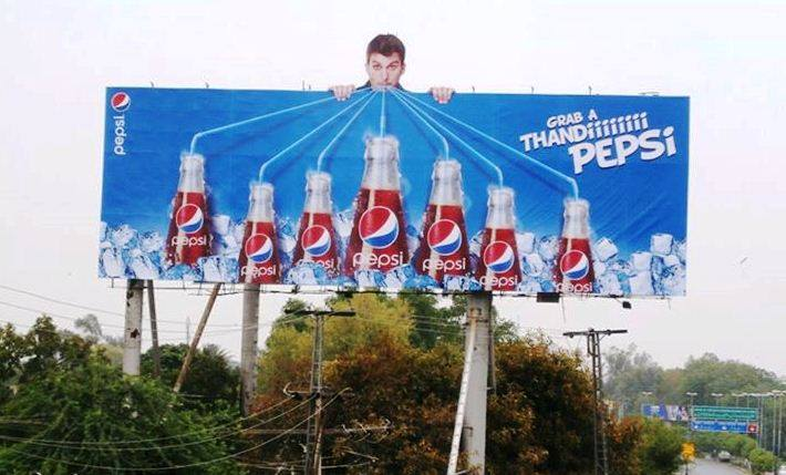 Grab a Thandi Pepsi OOH