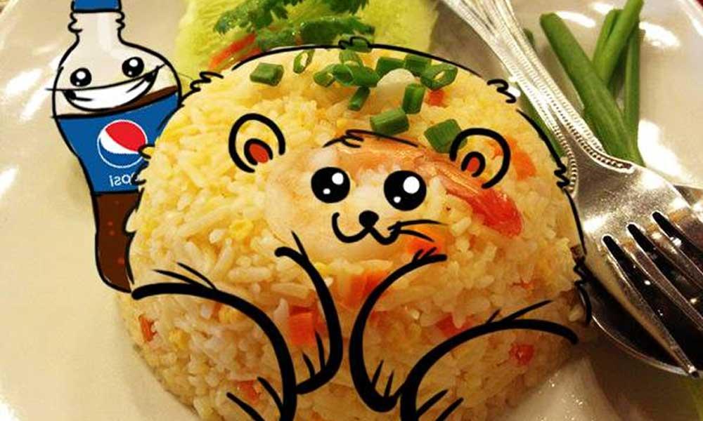 pepsi-food-doodling