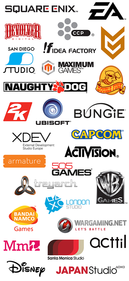 playstation-experience-exhibitors list.Branndsynario