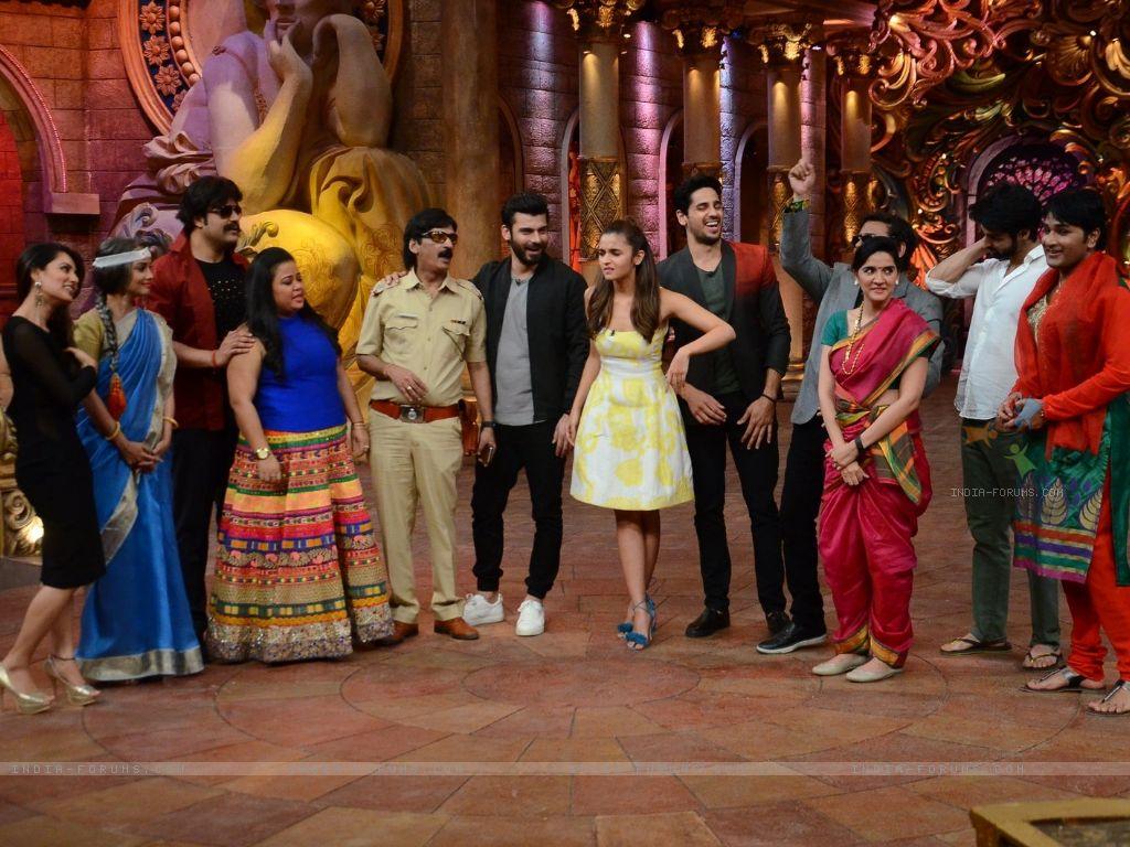 Fawad khan, Sidharth Malhotra & Alia Bhatt for Promotions of Kapoor & Sons on Comedy Nights Bachao