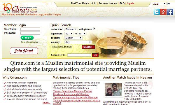 World's Top 5 Muslim Matrimonial Websites - Brandsynario