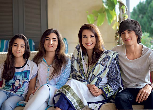 reham khan children