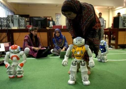robots in pakistan Nust