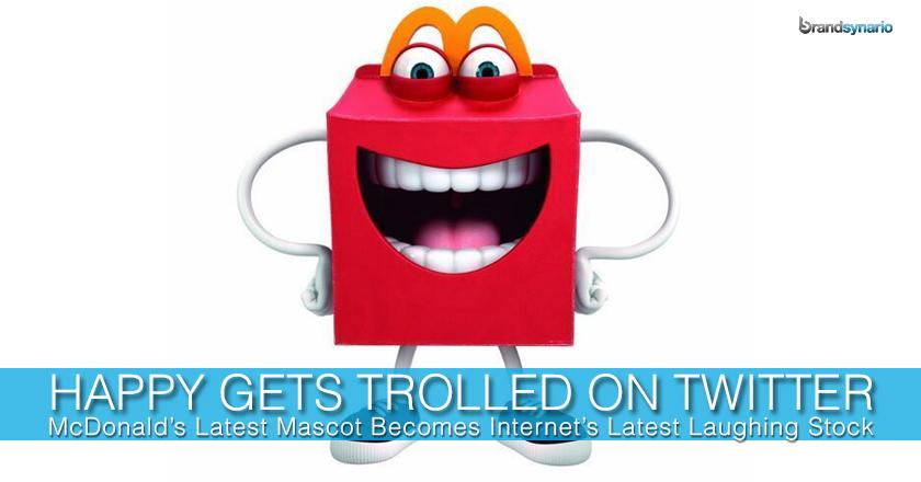 McDonald's Happy Mascot
