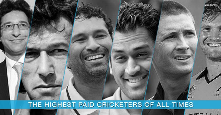 Ten Richest Cricketers