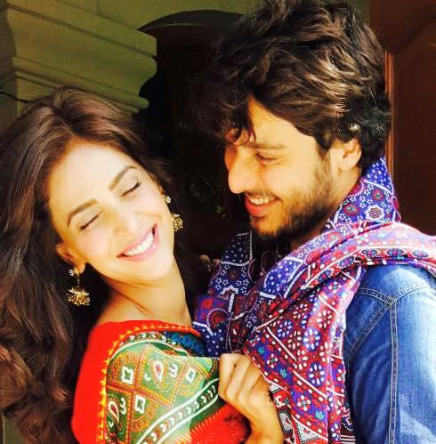 saba qamar amp ahsan khan to star in indian tv movie