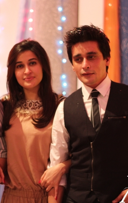 Shahista wahidi with brother Sahir Lodhi