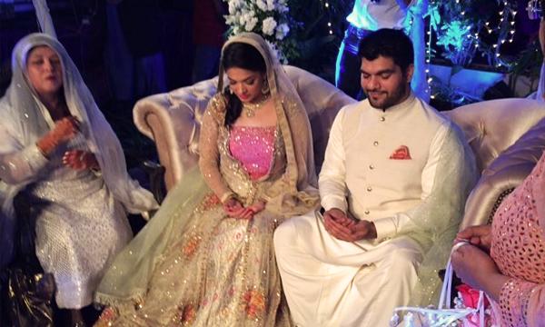 Sanam Jung S Wedding Mehendi Amp Nikah Pictures Brandsynario