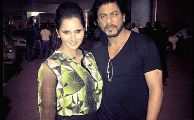 sania mirza with SRK
