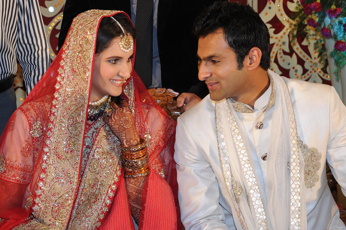 Shoaib Malik and Sania Mirza: