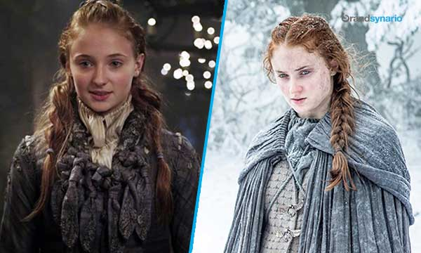 Sansa Stark Season 1 - Now