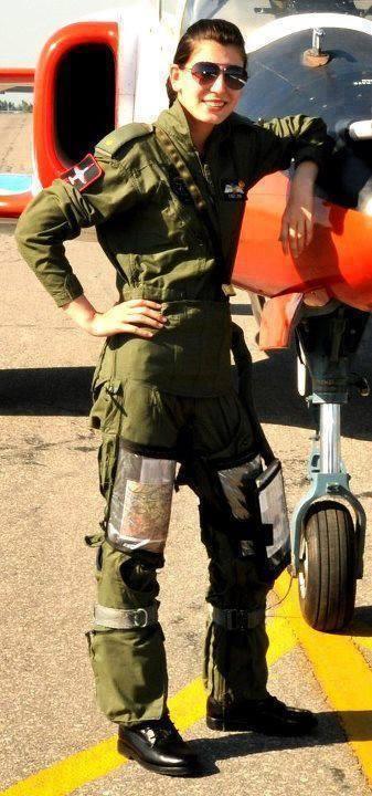 sharista baig air force day