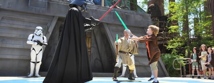 Train to be a Jedi !