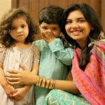 Sunita Marshall with Kids