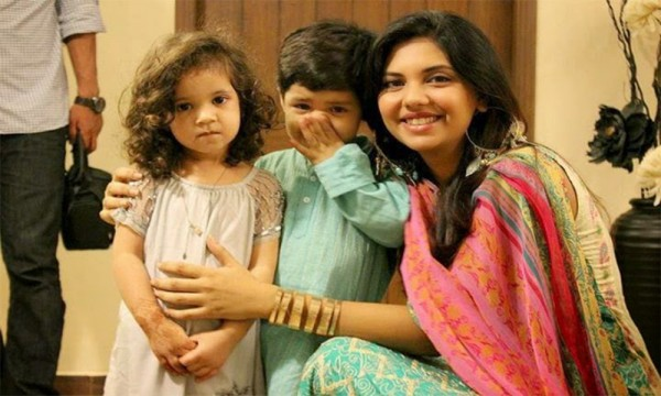 Sunita Marshall with Kids