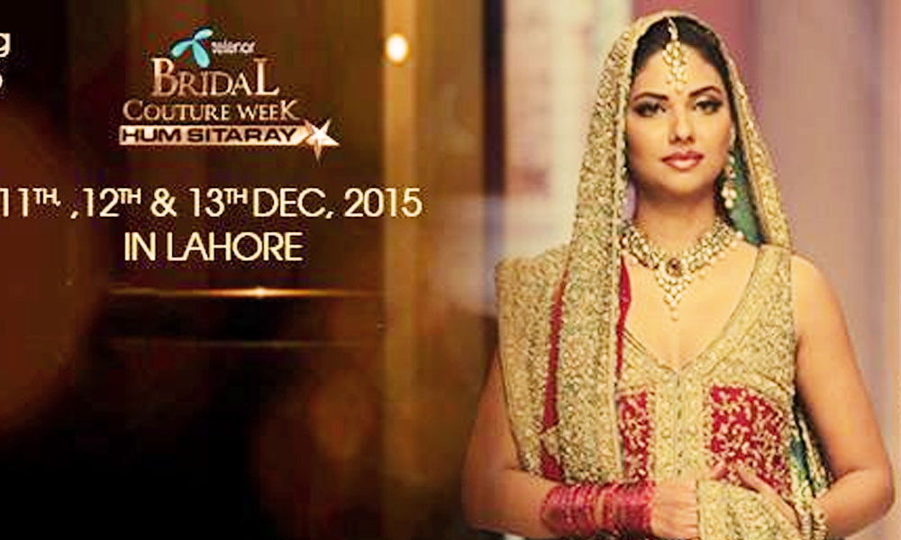 67895f109f Telenor Bridal Couture Week (TBCW 2015): Schedule, Designers' List ...