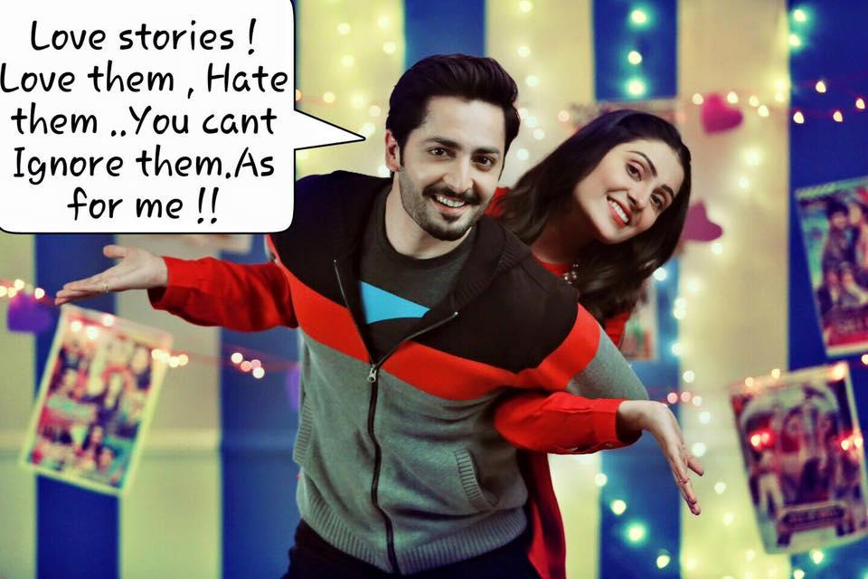 Ayeza Khan & Danish Taimoor's Teri Meri Love Story on Geo ...