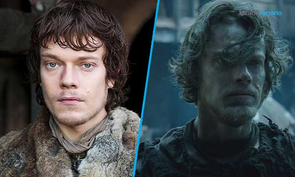Theon Greyjoy - Season 1 - Now