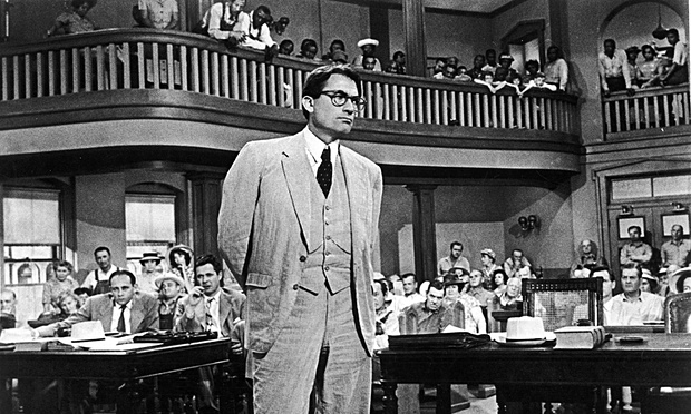 Gregory Peck starred in the film version of To Kill a Mockingbird