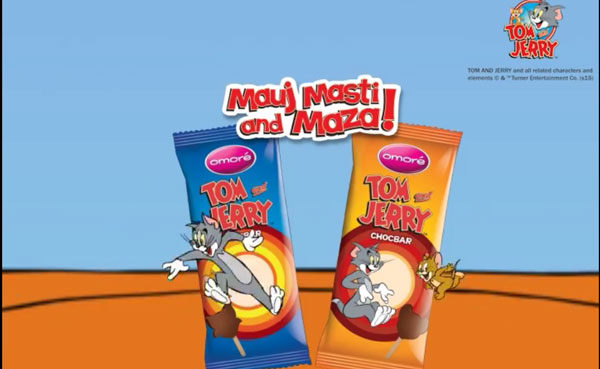 Tom Amp Jerry Comes To Pakistan With Omore Choco Bar