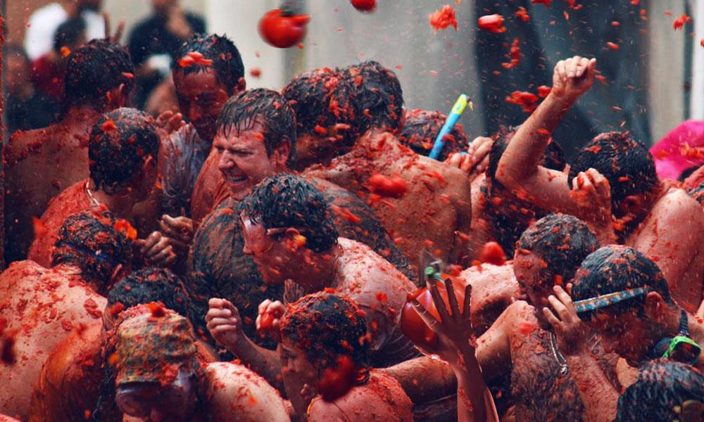 Tomatina Festival (Tomato Festival, Spain)