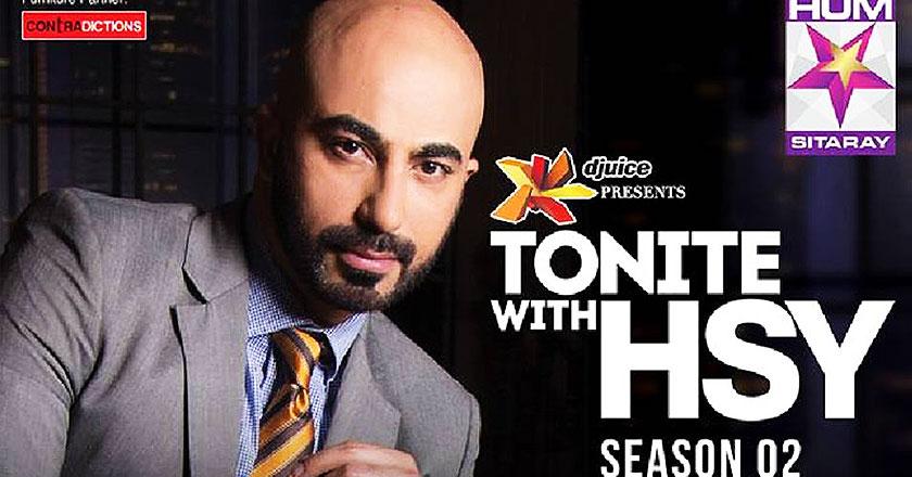 'Tonite with HSY' Season 2 returns on Hum Sitaray - Brandsynario. '