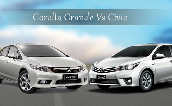 toyota corolla altis grande vs honda civic i vtec oriel review price specs features. Black Bedroom Furniture Sets. Home Design Ideas