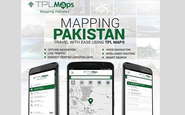 TPL Trakker Launches TPL Maps in Pakistan