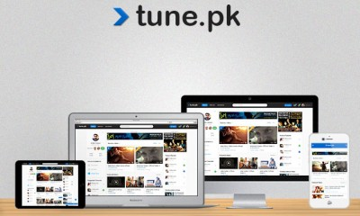 tune.pk website