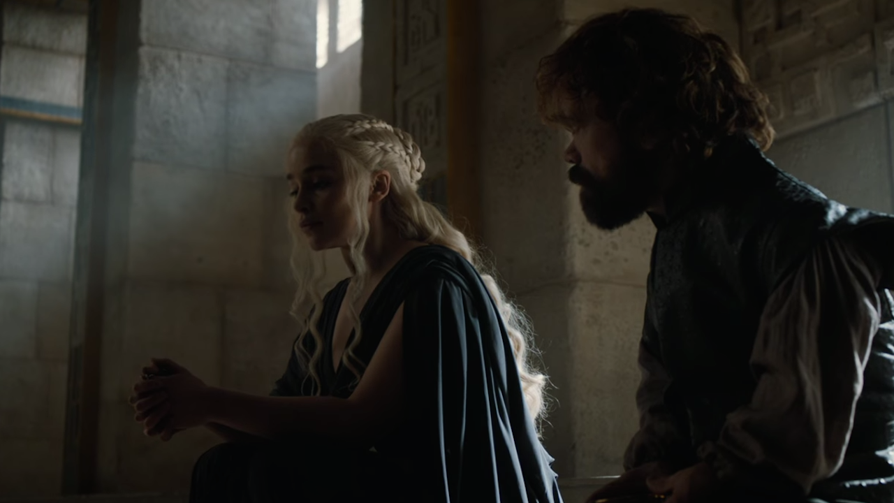 tyrion and dynarys in GOT