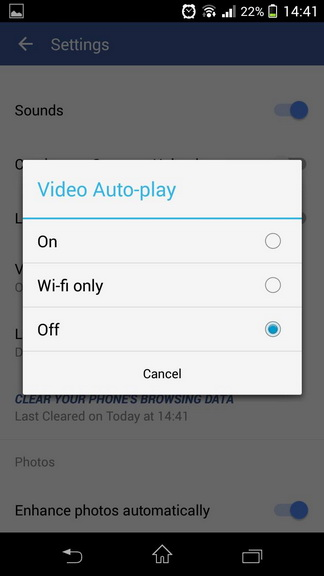 How to turn off auto play facebook videos in 3 easy steps