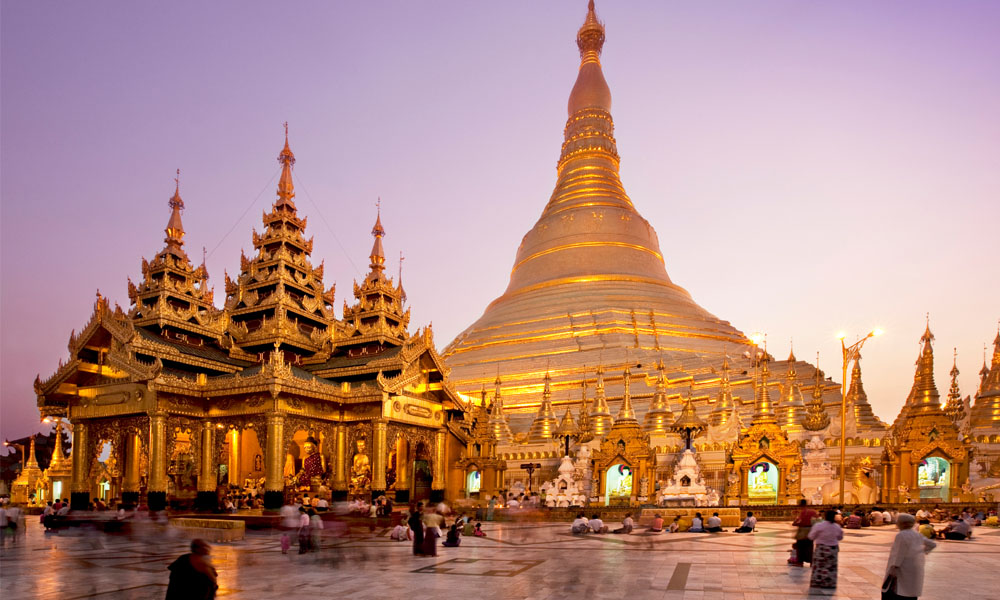 Travelers Seeking Authenticity Should Visit The Shwen Paa Most Sacred Buddhist Sanctuary In Country Its 99 Meter High Golden Stupa